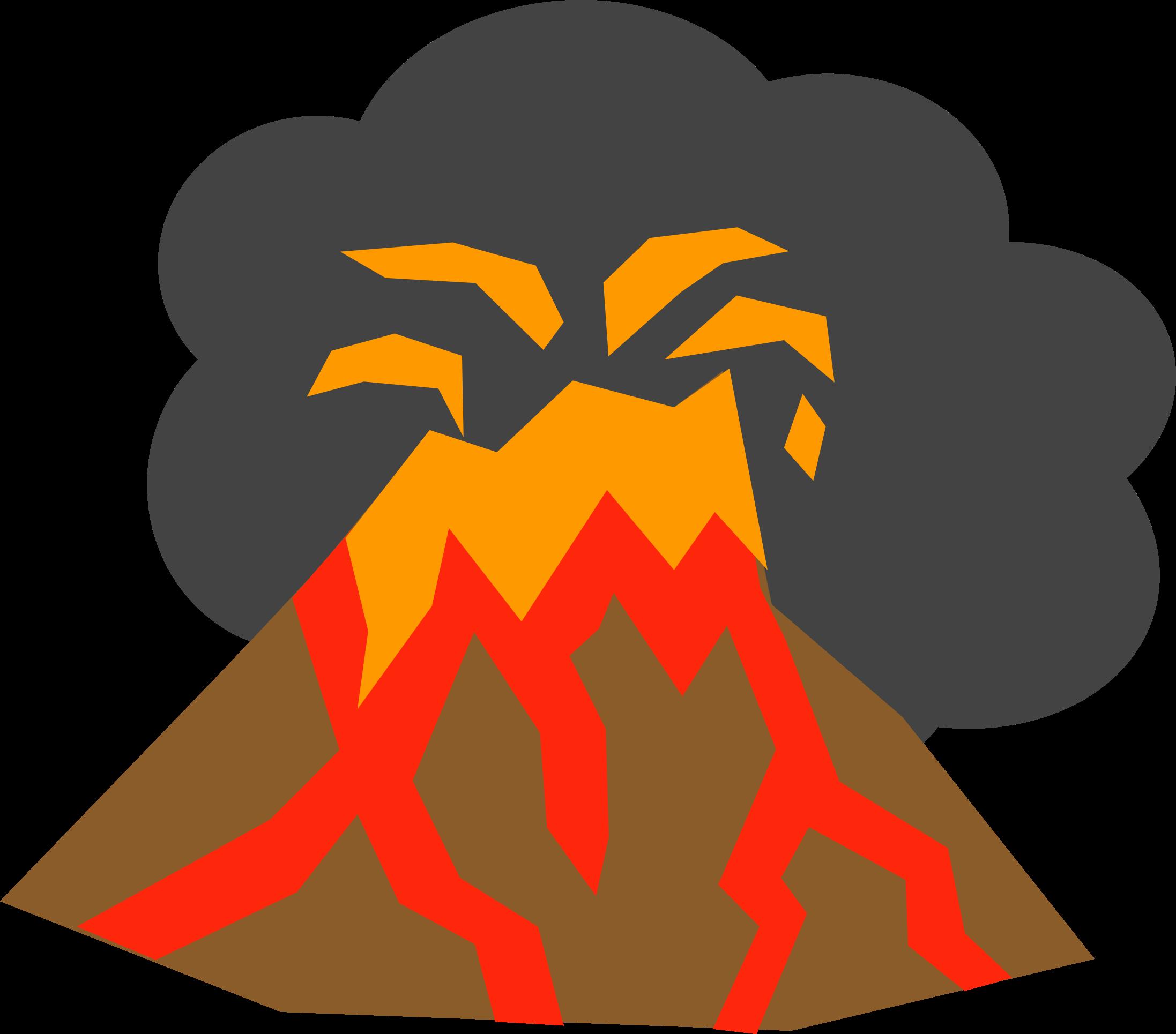 Disaster clipart volcano lava Volcano Volcano Clipart