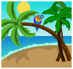 Tropical clipart hawaii #8