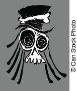 Voodoo clipart Stock Illustration Skull Voodoo a