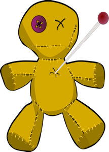 Voodoo clipart bad luck He Curse to a Recognize