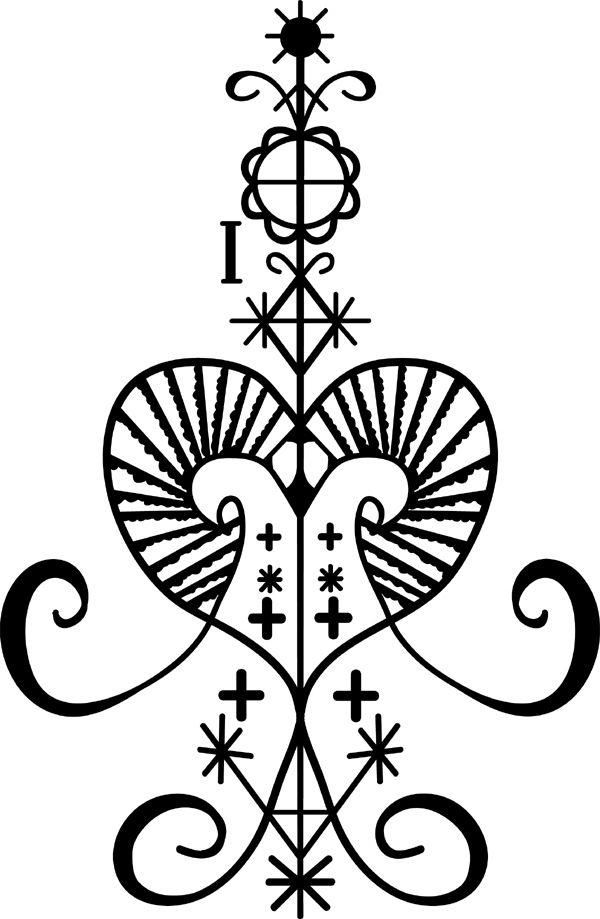 Voodoo clipart love @deviantART sugarsphinx deviantart Tattoo Symbols