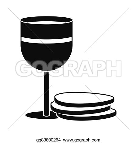 Wafer clipart chalice Drawing Clipart Drawing Chalice and