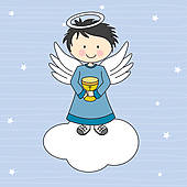 Wafer clipart chalice GoGraph Angel chalice Art a