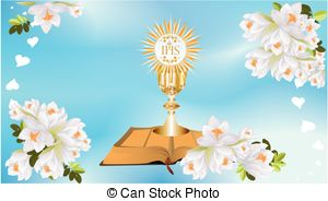 Wafer clipart first communion Communion Clip wafer  with