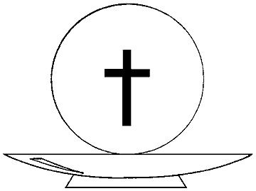 Wafer clipart first communion Pin images Pinterest crafts Find