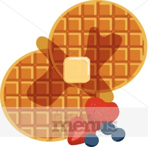 Pancake clipart waffle Food Clipart Graphics Clipart Waffle