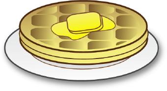 Waffle clipart Art clip  Waffle