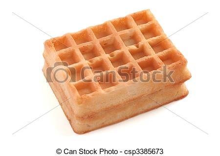 Waffle clipart frozen Waffle Clipart  Square