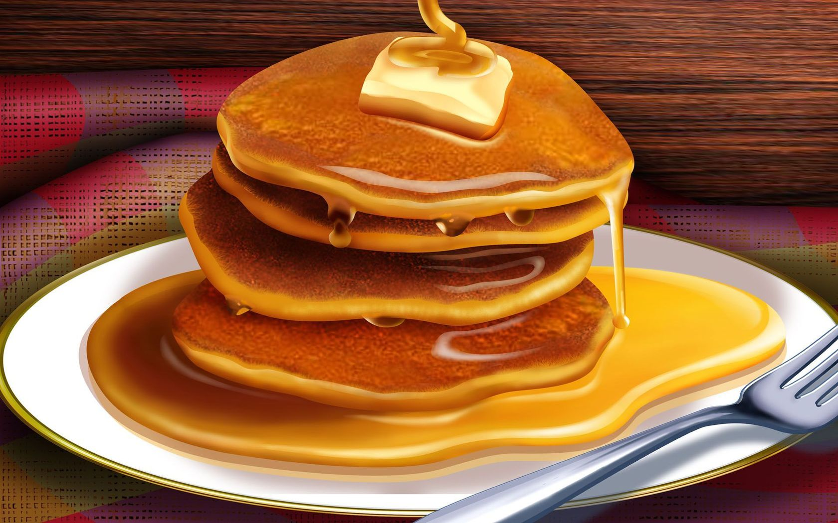Pancake clipart delicious  Pancakes Stack wallpaper Syrup