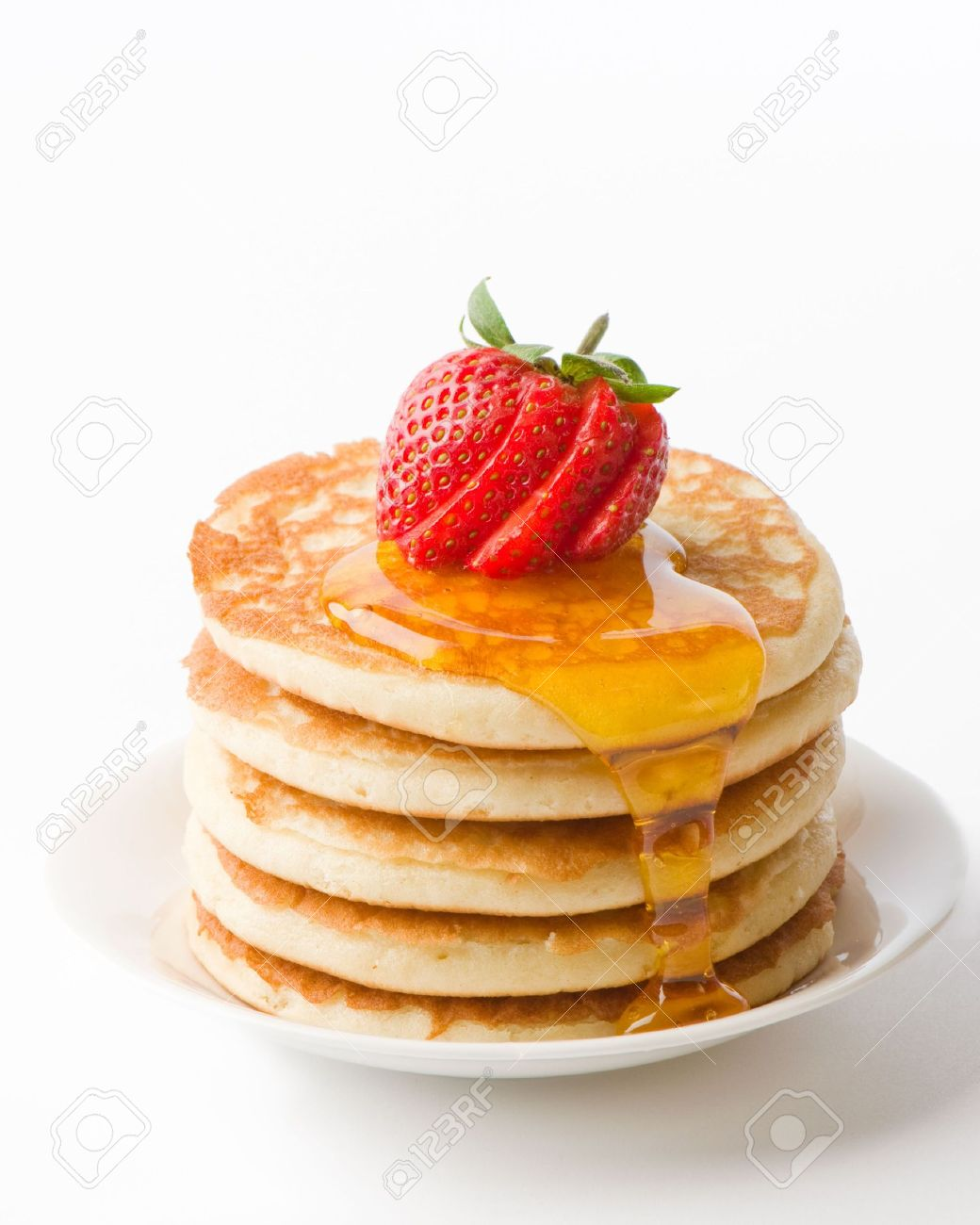 Waffle clipart syrup With  Syrup Stack Of