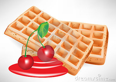 Waffle clipart syrup Clipart  clipart Collection and