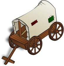 Wagon clipart Clip Wagon Wagon Covered Art