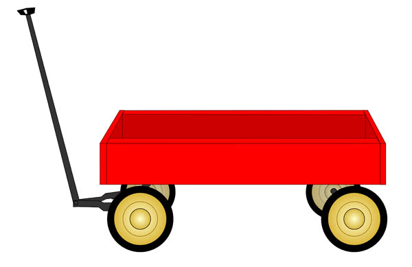 Wagon clipart Clipart Red clipart Vectors wagon