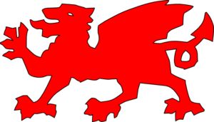 Wales clipart Clker Art Clip Red Red