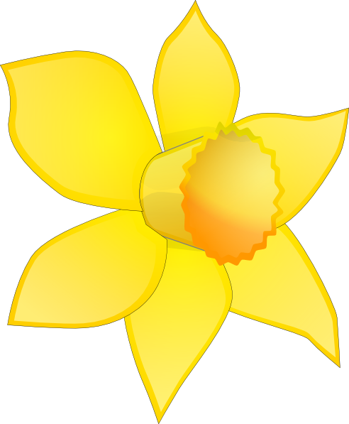 Wales clipart narcissus flower As: Clip at Art com