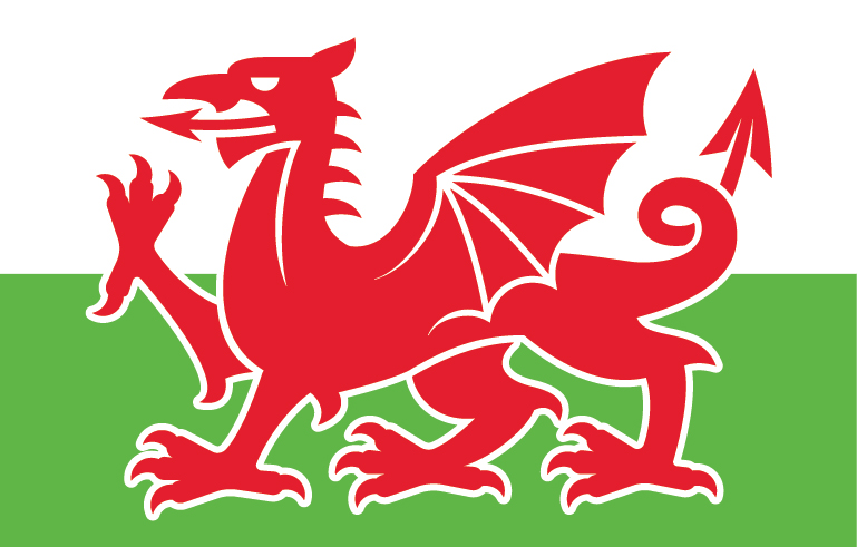 Wales clipart welsh flag Simplified Free Free Logo Vector