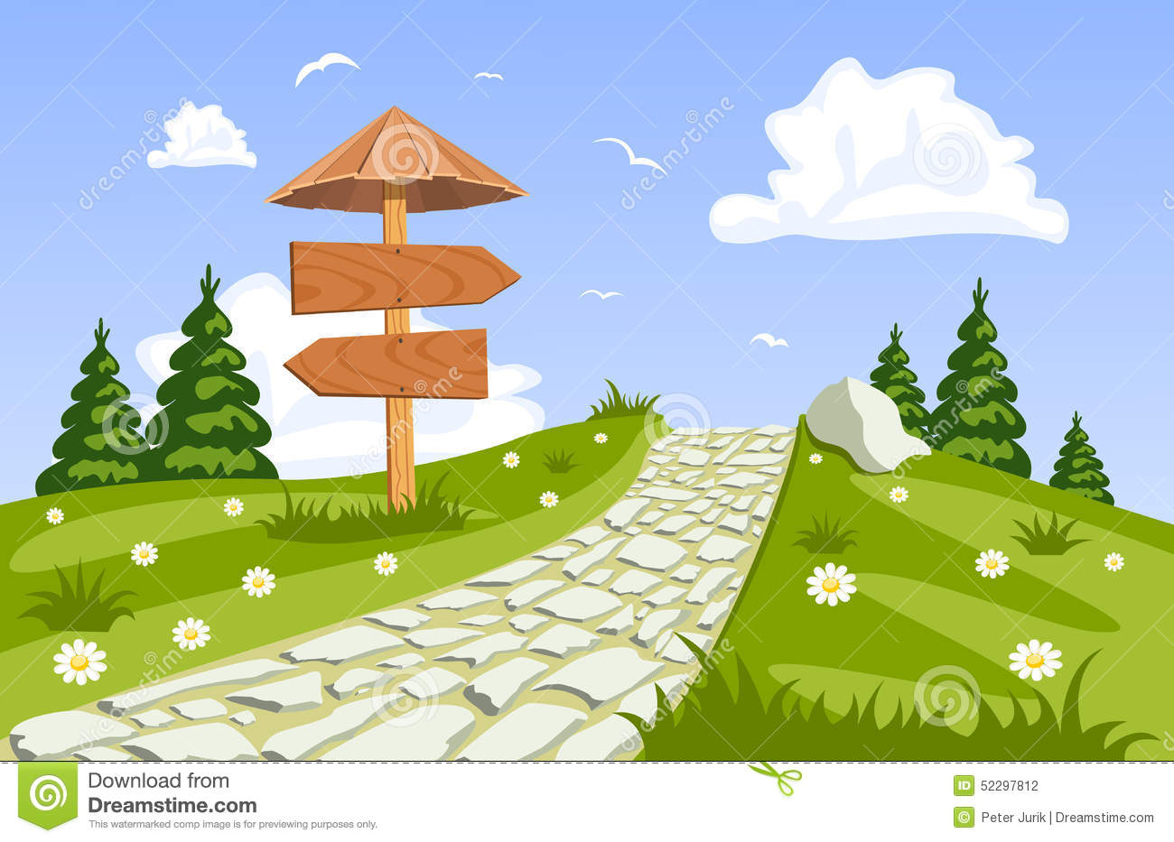 Walkway clipart RoyaltyFree Illustrations Clipart clipart Walkway