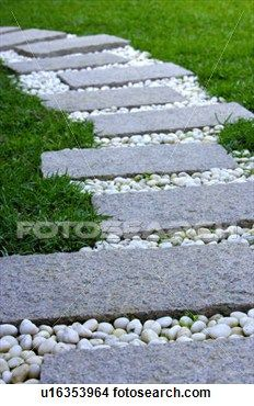 Walkway clipart curved path Images on best Garden about
