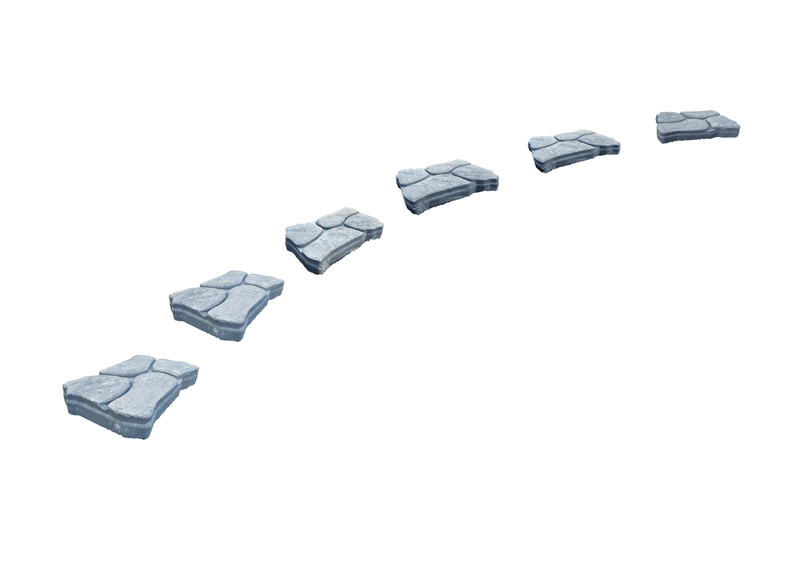 Walkway clipart stepping stone IMGFLASH Path 36720 Path Png