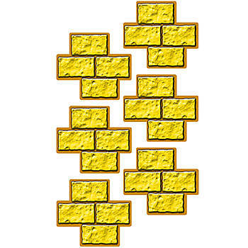Road clipart brick path #10