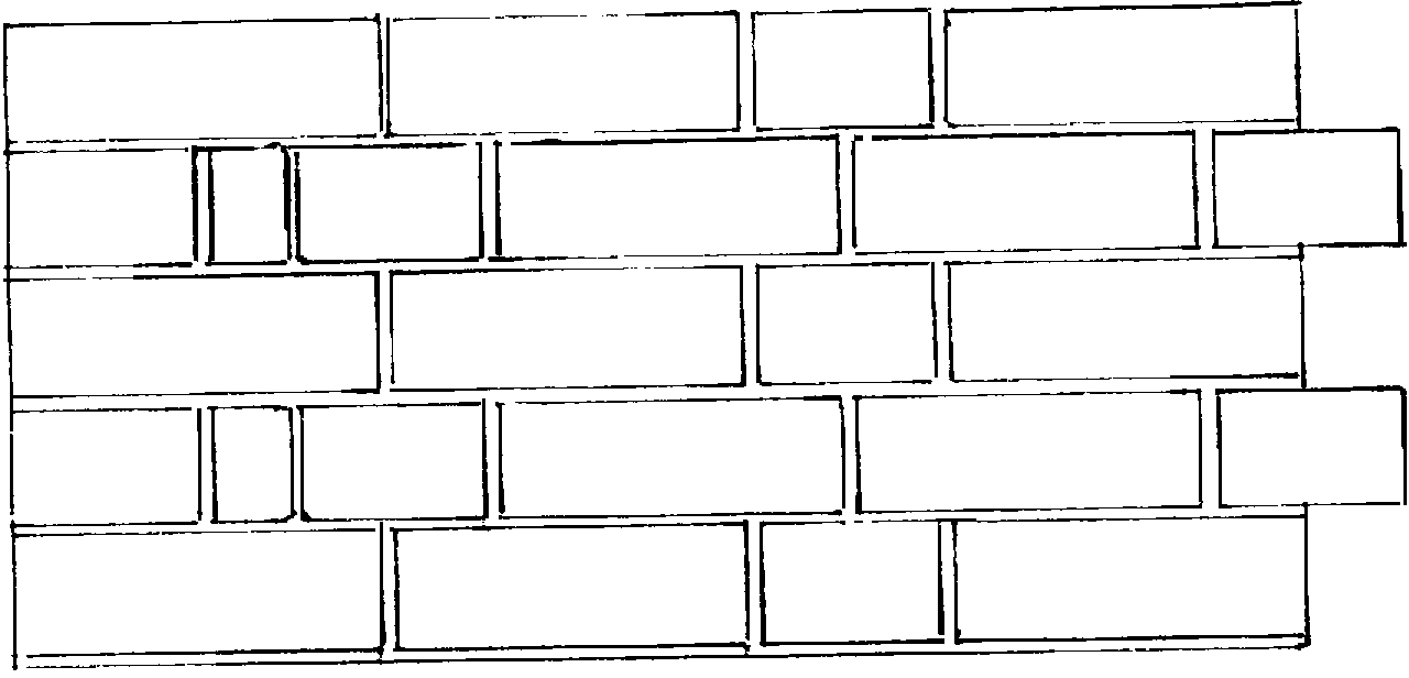 Ceiling clipart black and white Brick Wall and black :
