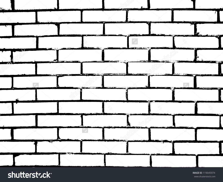Black clipart brick wall White And Wall Design Wall