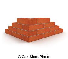 Brick clipart brick foundation  made  on 6