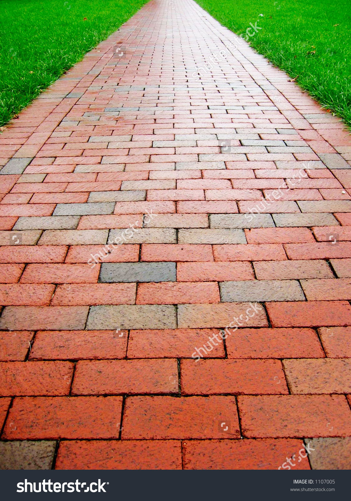 Road clipart brick path #5