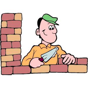 Brick clipart brick mason  layer Bricklaying Brick Collection