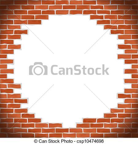 Brick clipart broken brick  Clipart Brick Broken Wall