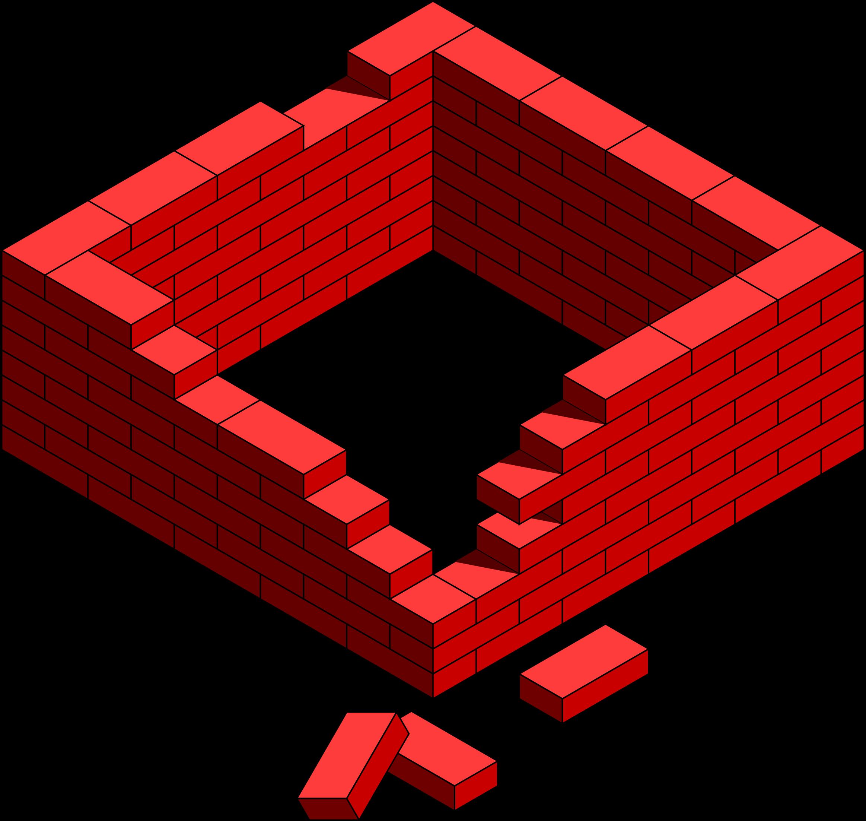 Brick clipart broken brick Clipart Clip Brick frame schliferaward