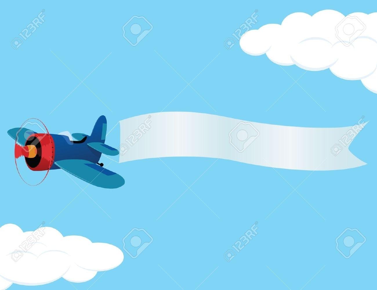 Airplane clipart banner clipart George des Clipartsco Curious Art