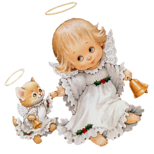 Angel clipart cute Picture Angel Kitten Cute Clipart