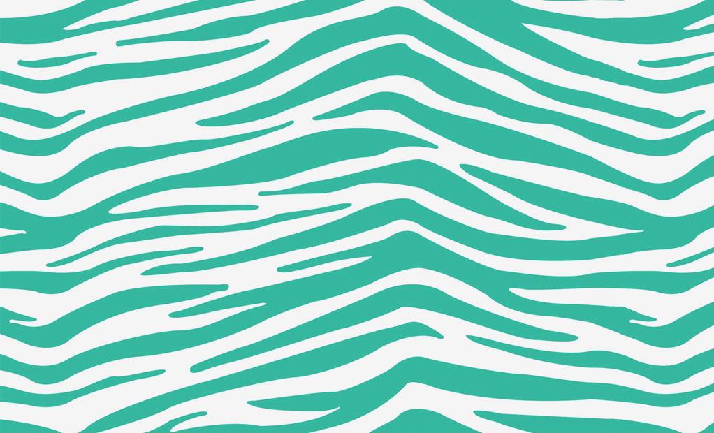 Tiger Print clipart blue Print Offer Clip Zebra