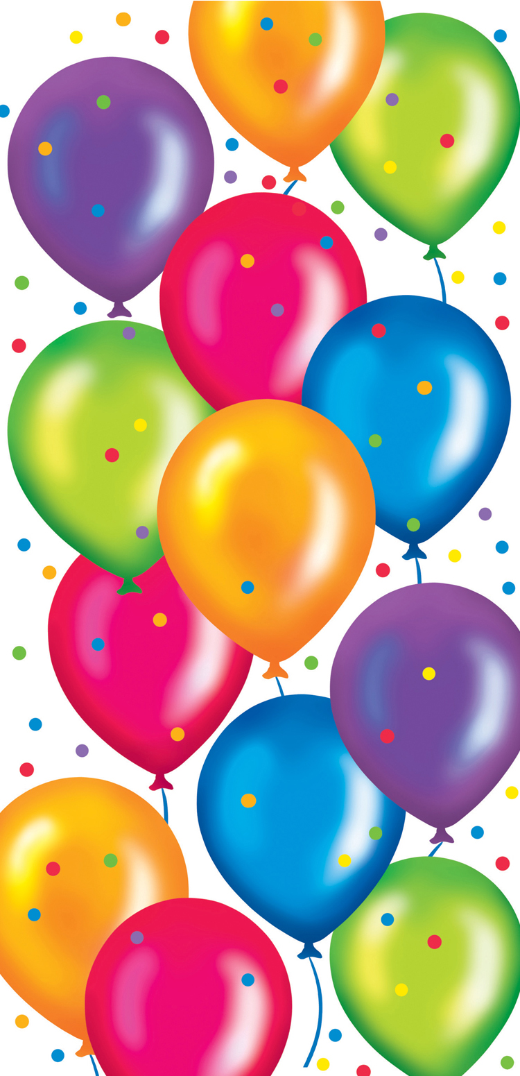 Wallpaper clipart umbrella 26469wall Balloons Birthday Background