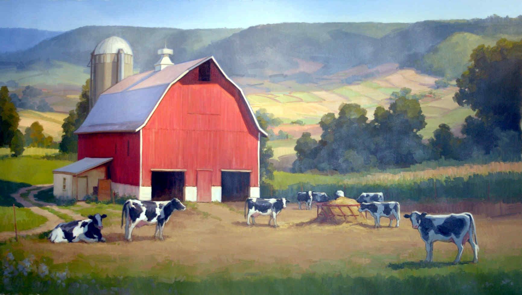 Feilds clipart dairy farm Barns Free New Hd Wallpaper