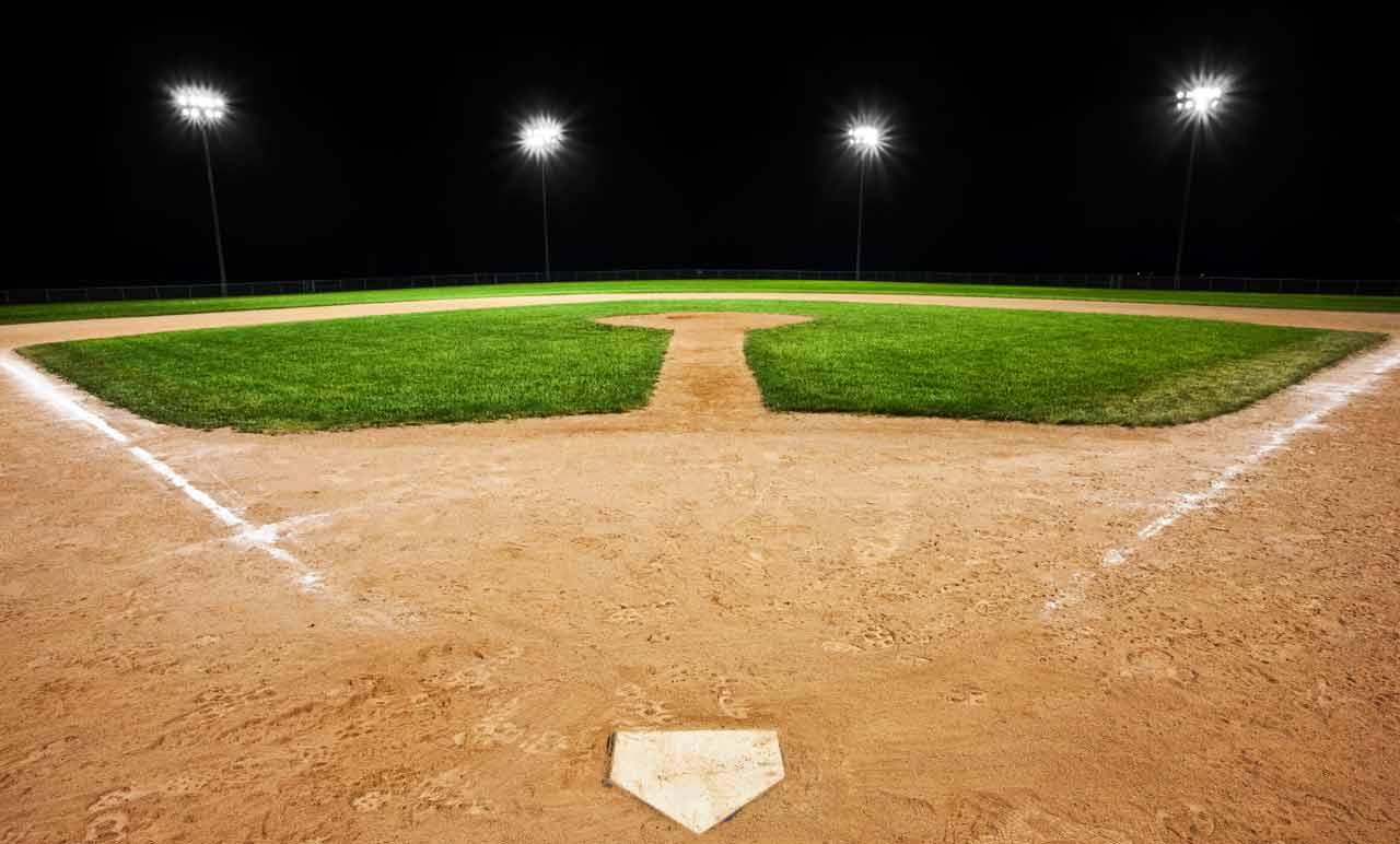 Light clipart baseball stadium Download Free Art on Field