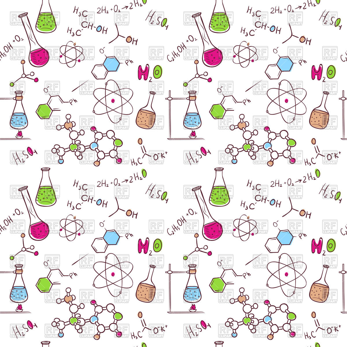 Wallpaper clipart chemistry Chemistry Flask clipart Science clip