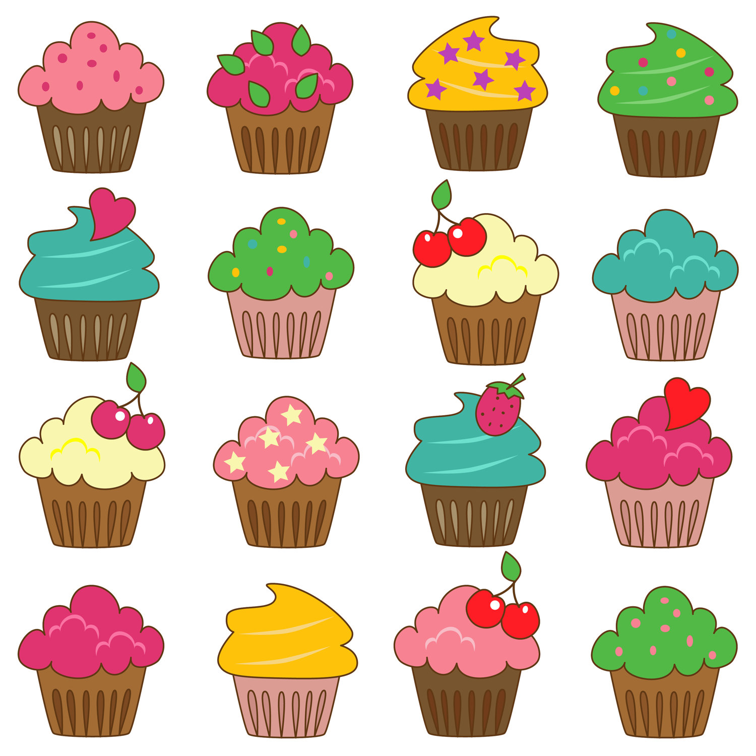 Blueberry Muffin clipart small cake Clipart Free Clip Art Panda