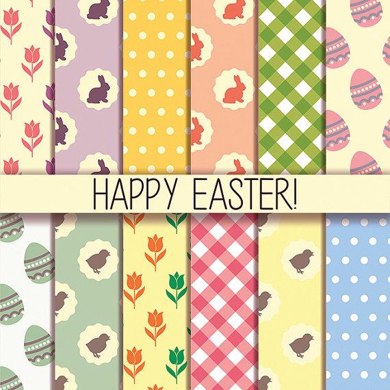 Wallpaper clipart easter Digital 12 wallpaper Clipart Easter