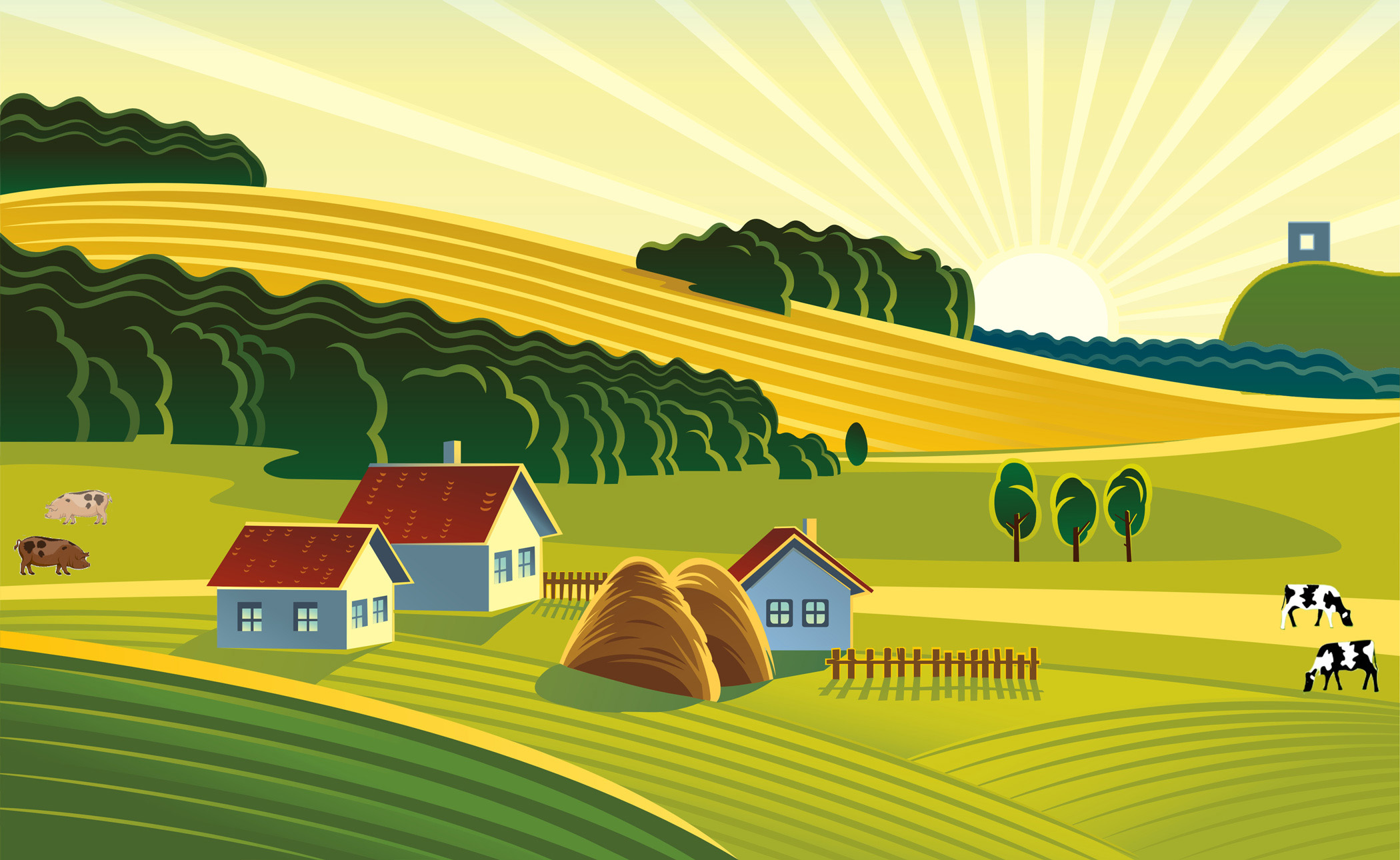 Rural clipart agriculture farming Akvelon  Challenge Innovation Akvelon