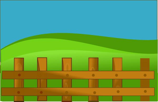 Barn clipart fence Online Online Vector frame Domain