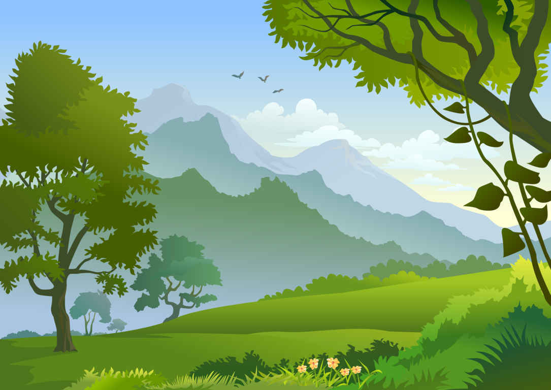 Wallpaper clipart forest Vector And # and Forest