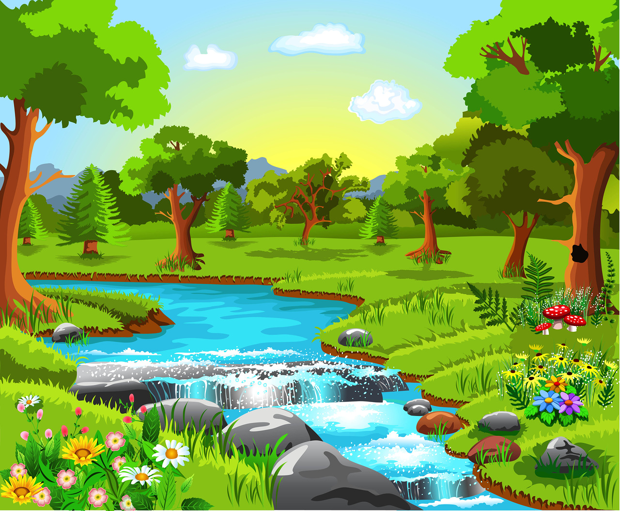 Wallpaper clipart forest Backgrounds Pin Soloveika Яндекс this