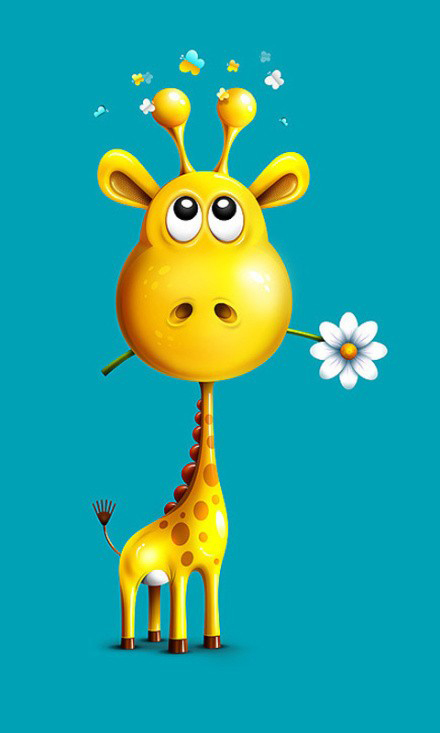 Wallpaper clipart giraffe Mini samsung mini  giraffe