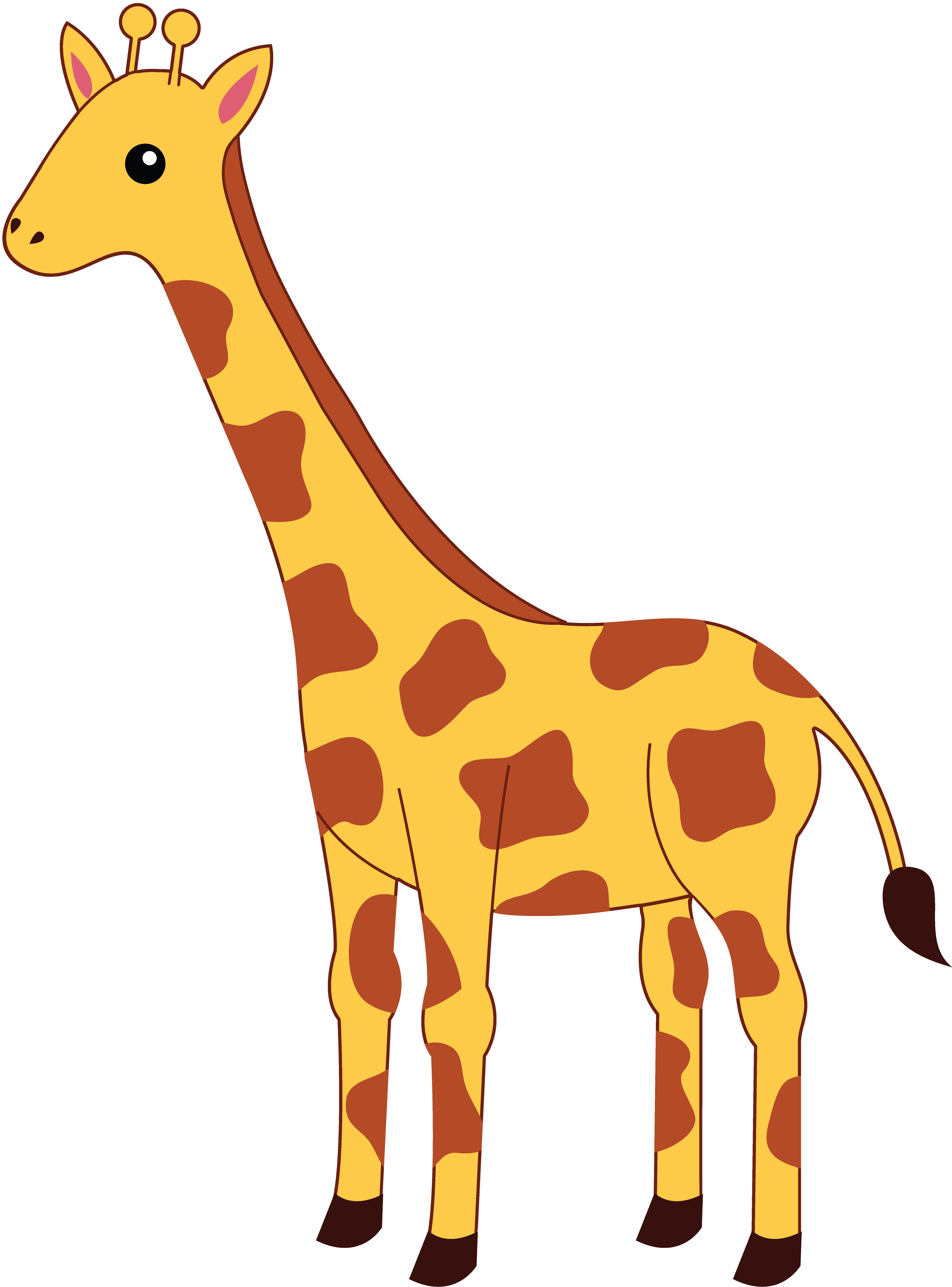Pice clipart giraffe #10