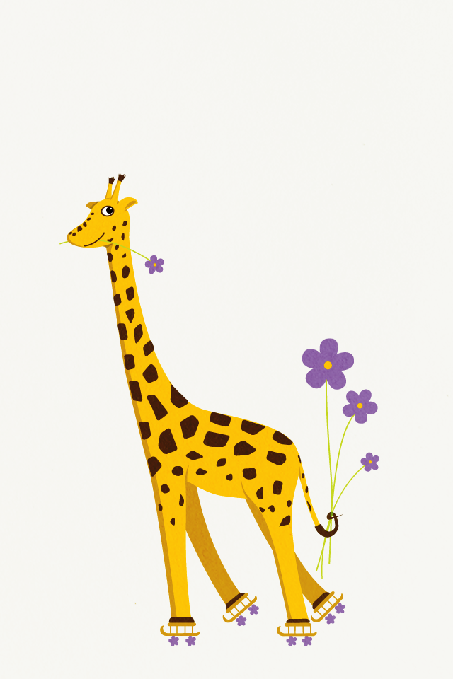 Wallpaper clipart giraffe Giraffe and Free Clip Download