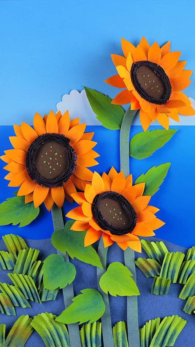 Sunflower clipart wallpaper ClipartFox size collections BBCpersian7 size