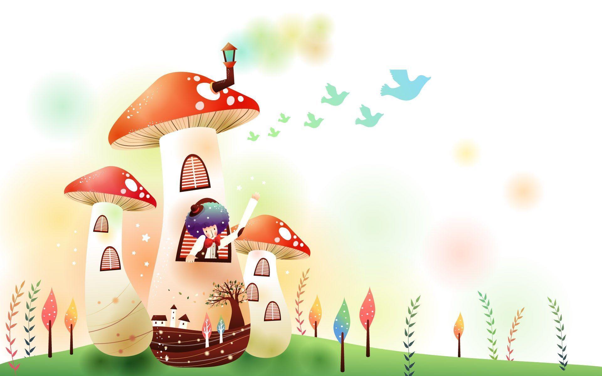 Mushroom clipart wallpaper Mushroom mushroom Cartoon www Showing