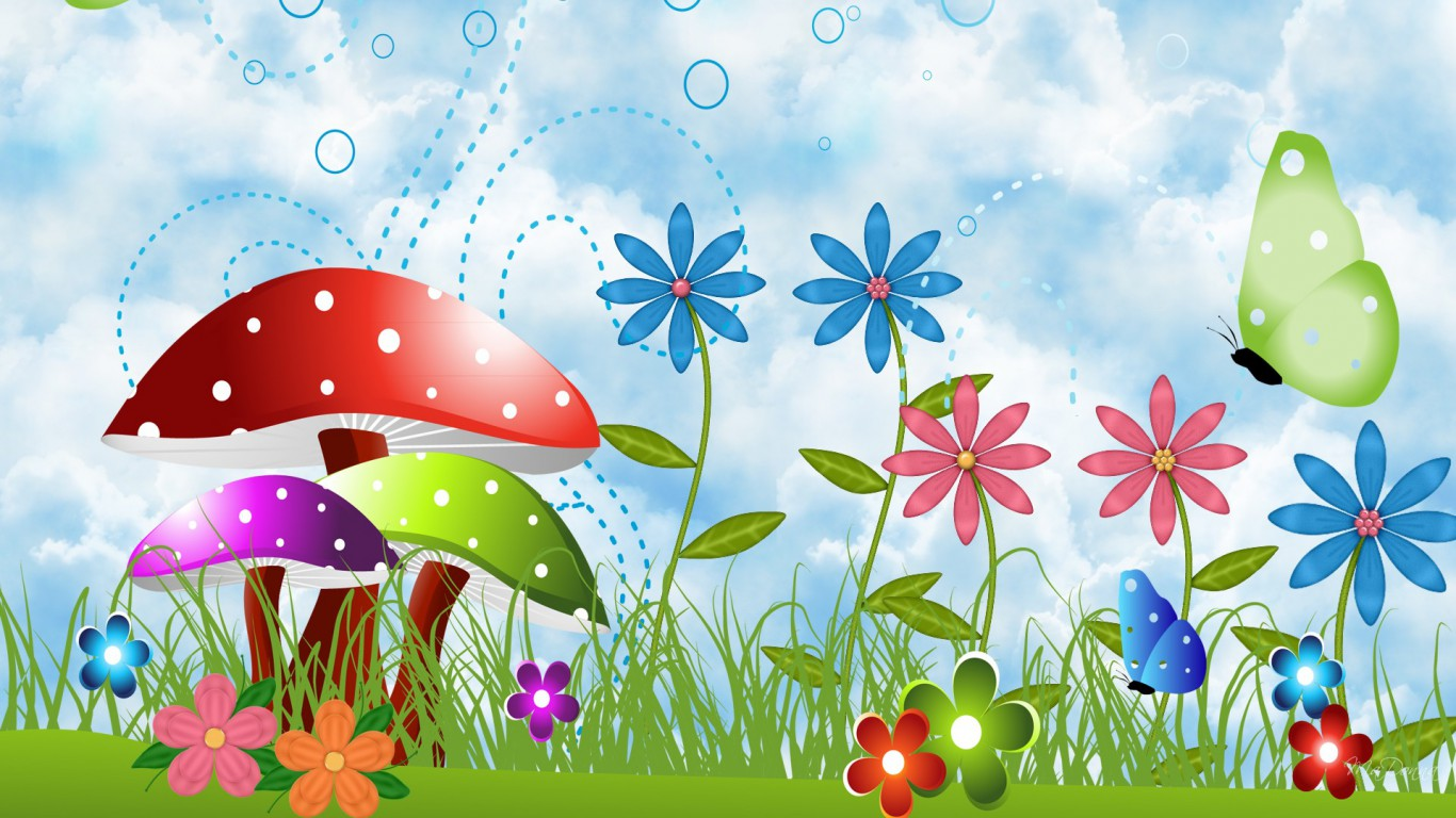 Nature clipart spring flower #14